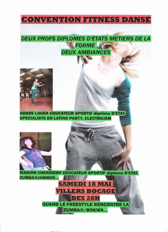 CONVENTION FITNSS/DANSE